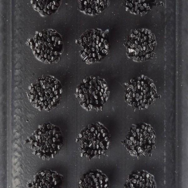 Bürstenfarbe Dreifachbürste schwarz